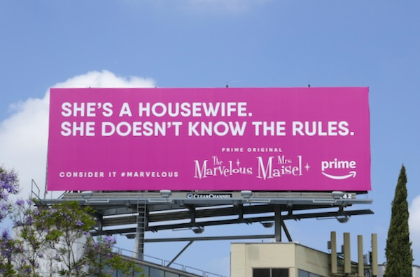 Shes a housewife Marvelous Mrs Maisel Emmy FYC billboard