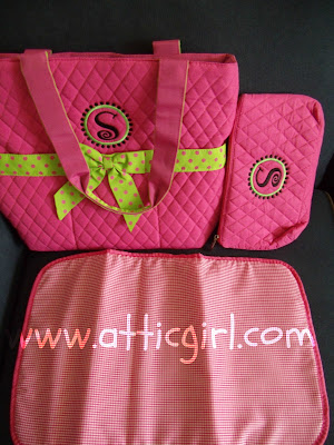 diaper bag, purse, tote