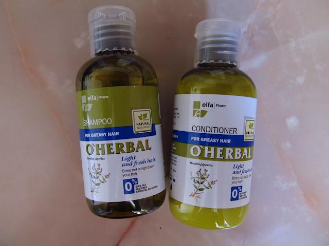 Серія для жирного волосся O'Herbal Mentha Piperita