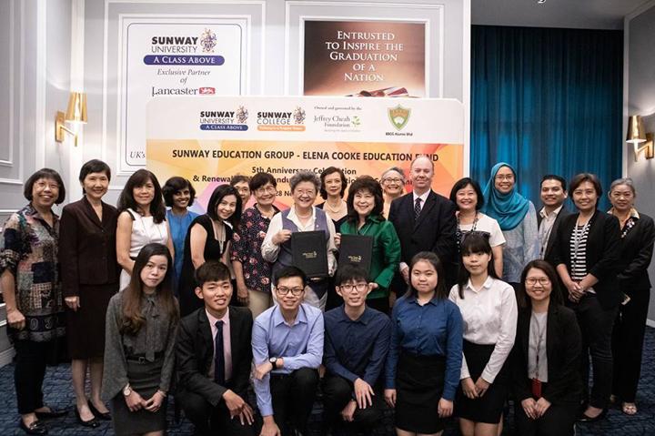 Dana Pendidikan Elena Cooke untuk lepasan SPM dan STPM 2018-2019