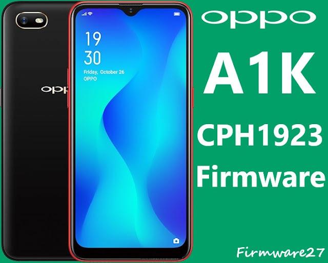 Oppo A1K CPH1923 Firmware
