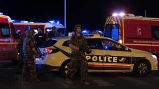 BREAKING: Four men held over lorry attack in Nice
