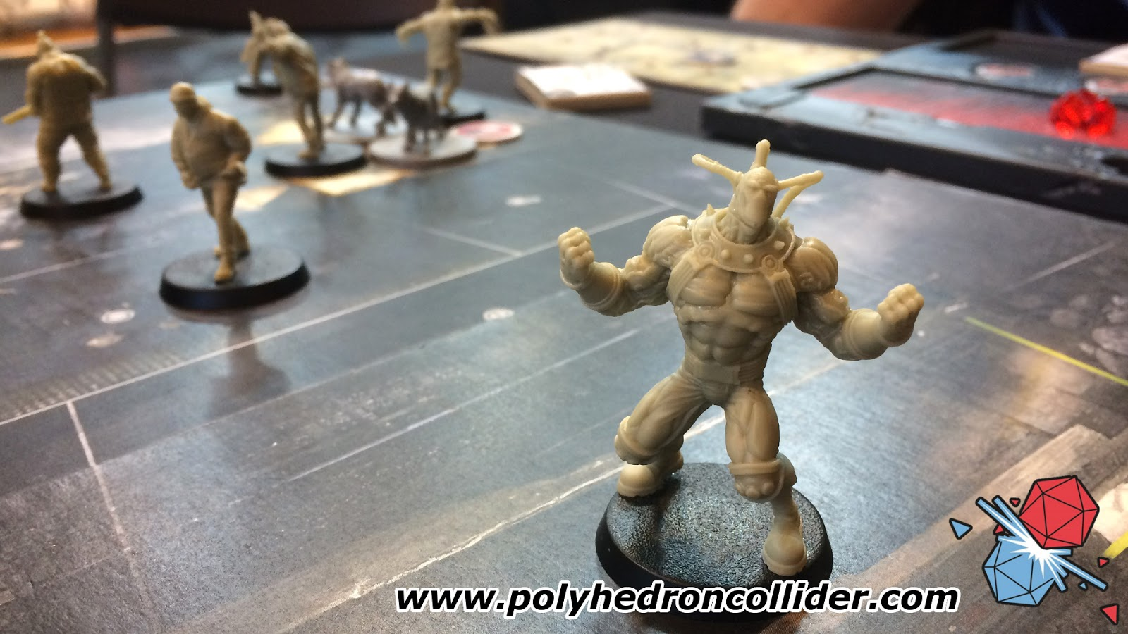 Batman the Boardgame Bane miniature