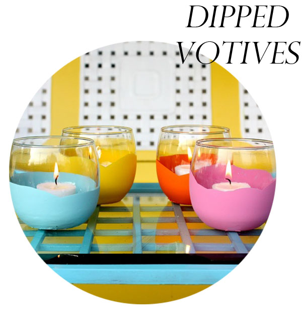 dipped votives