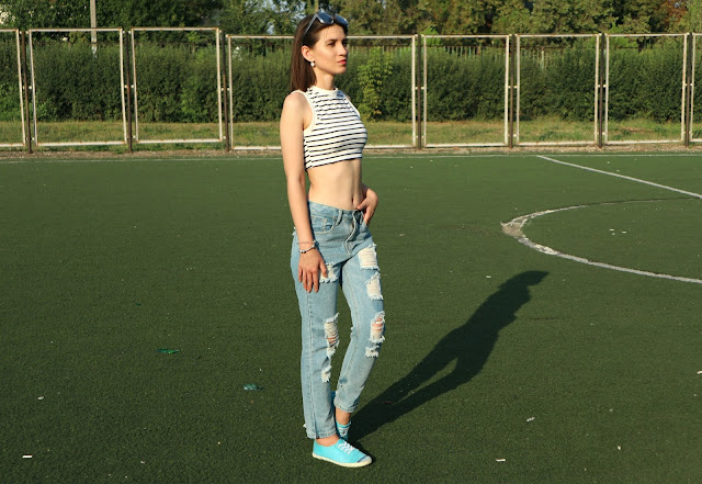 Zaful Haul: Ripped Jeans Outfit
