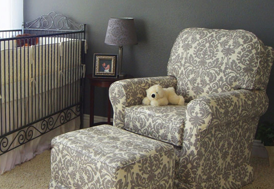 Nursery Room Ideas Glider And Rocking Chair
