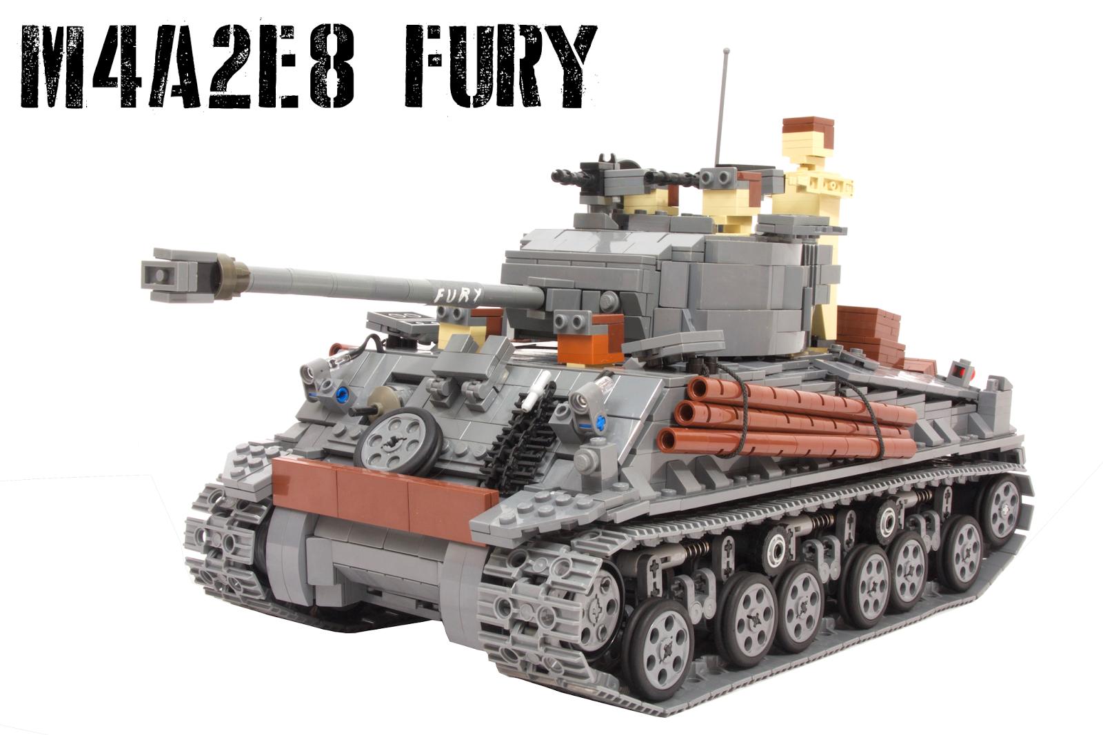 Tommy Styrvoky S Mocs M4a2e8 Fury Sherman Tank
