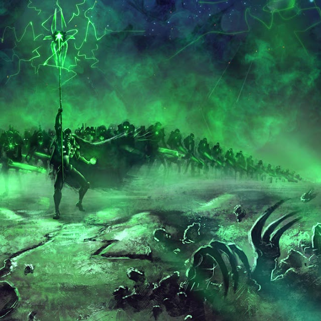 Necrons 40k Wallpaper Engine