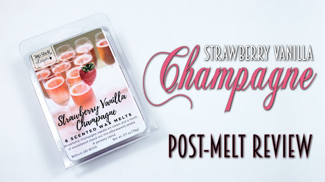 Top Shelf Lacquer Strawberry Vanilla Champagne | Post-Melt Review