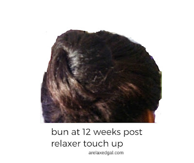 A wash day experience recap at 12 weeks post 8/9/14 relaxer touch up. | arelaxedgal.com