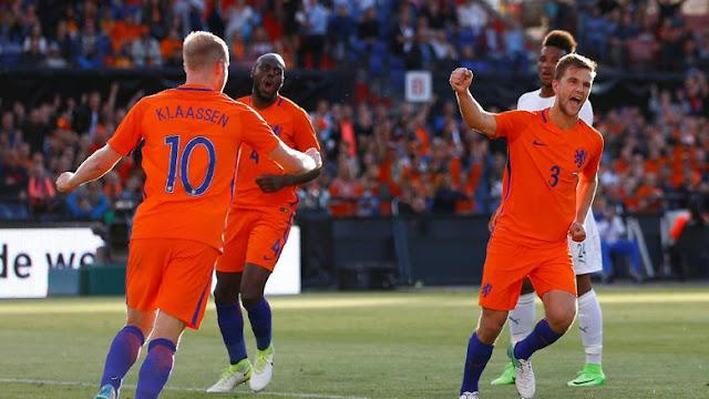 Belanda Bantai Pantai Gading Dengan Skor Telak 5-0
