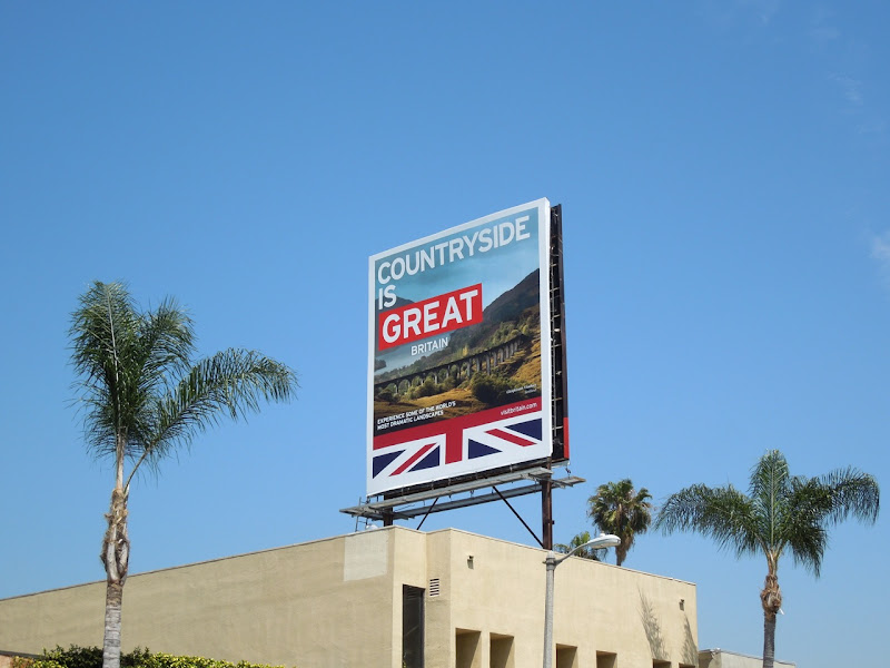 Visit Britain Countryside is Great billboard