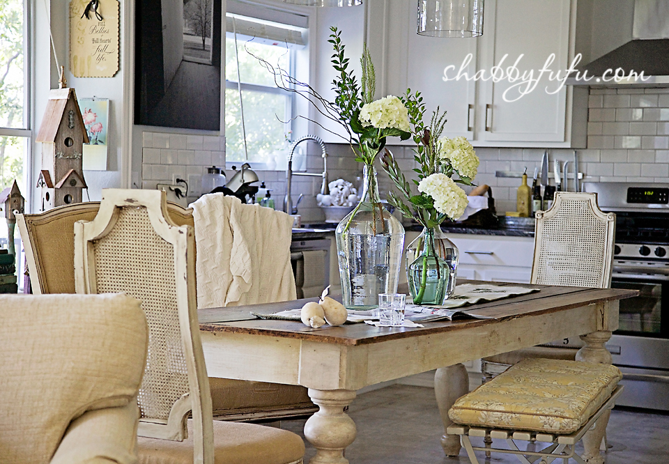 French country decor in Texas - a french style kitchen setting