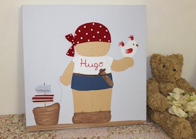 cuadros-infantiles-personalizados-piratas