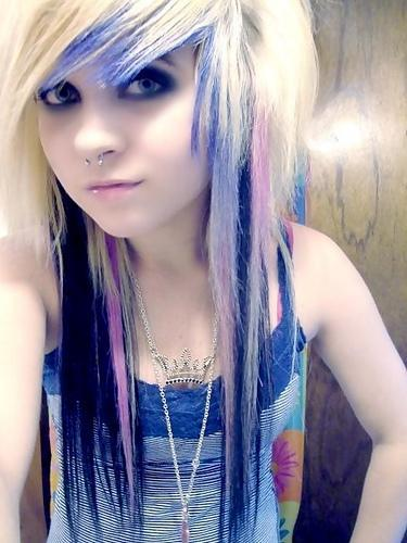 Understand emo scene hairstyle for teen girls you