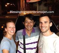 Benjamin and Angela (CA), transport tour from Surabaya Airport to Moumt Bromo-Ijen-Kuta Bali