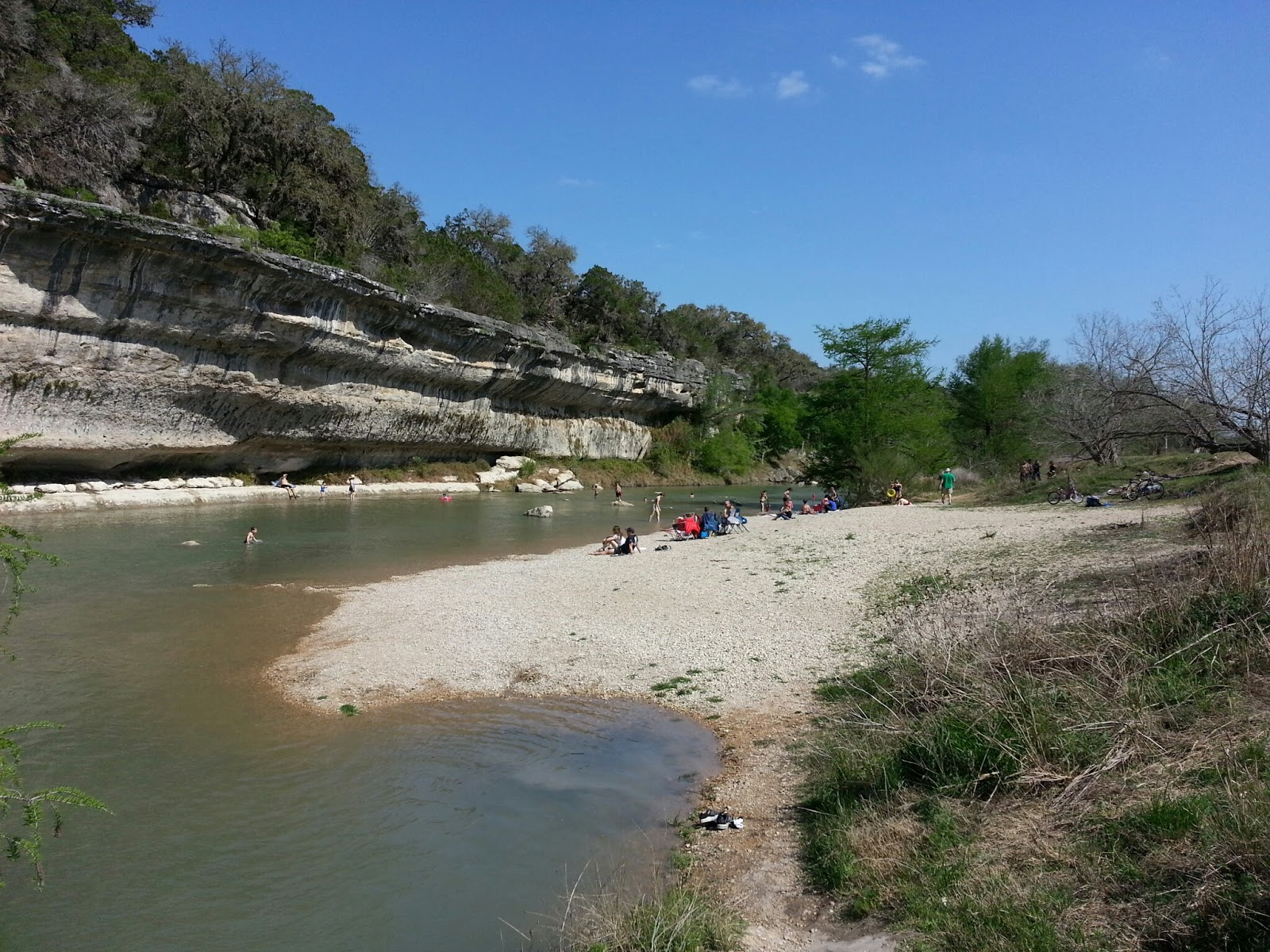 My Texas Parks And Outdoors Guadalupe River State Park