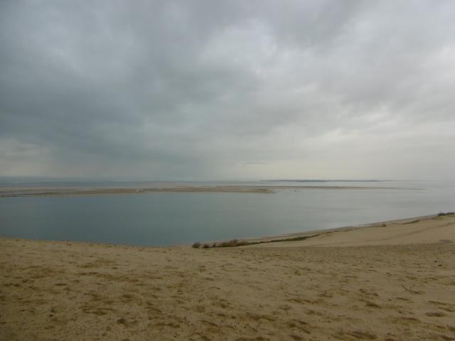 Le banc d'Arguin, vu de la dune du pilat, malooka