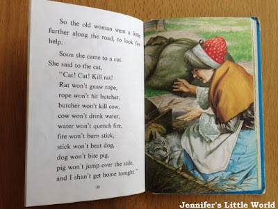 Ladybird Well Loved Tales - The Old Woman and her Pig