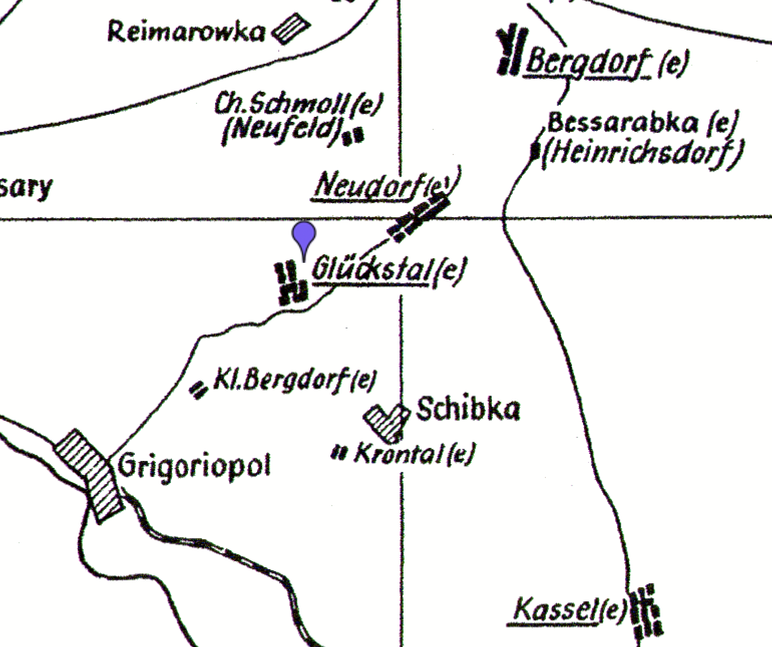 Germans from Russia Settlement Locations Valley of Good Fortune