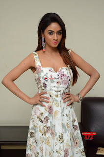 Pooja Sree in Deep Neck Sleeveless Gown at Nandikonda Vagullona Movie Audio Launch ~ Exclusive Galleries