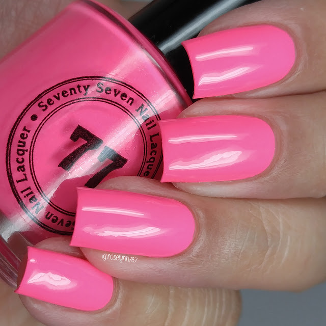 Seventy Seven Nail Lacquer - Be My Anti-Valentine