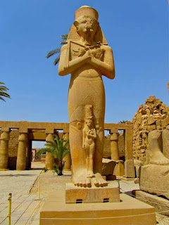 Bentanat Ramses II Wife Daughter Karnak Temple Egypt