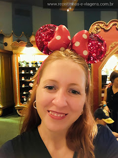 Orelha de Minnie rosas!