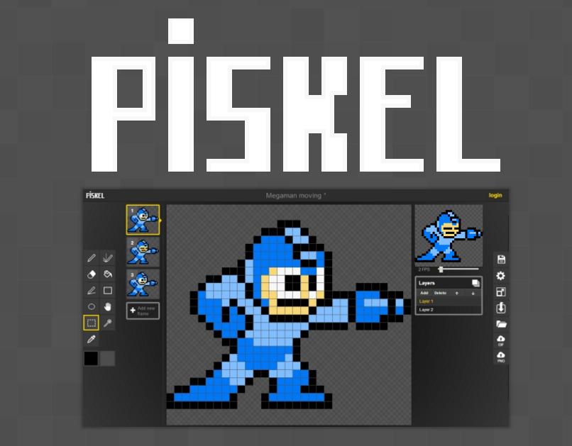 Crea y anima pixel art con este sencillo y gratuito editor online