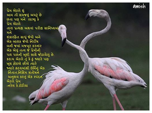 Prem Atle Su Gujarati Kavita By Naresh K. Dodia