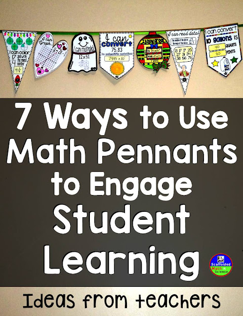 How to use math pennants