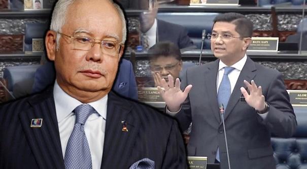 Najib terduduk! Azmin dedahkan dalam parlimen punca Khazanah lingkup yang diuruskan zaman BN memerintah!