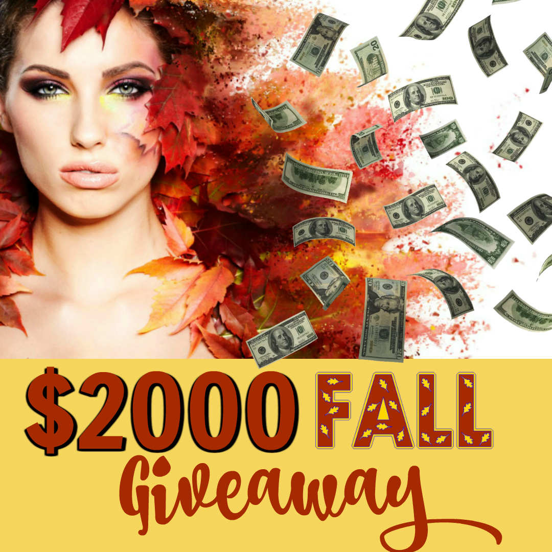 Fall Is In The Air And So Is A $2000 Giveaway By Barbies Beauty Bits