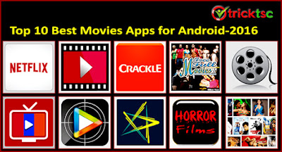 Top 10 Best Movies Apps For Android – 2016