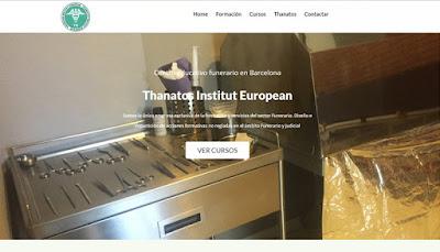 web del sector funerario