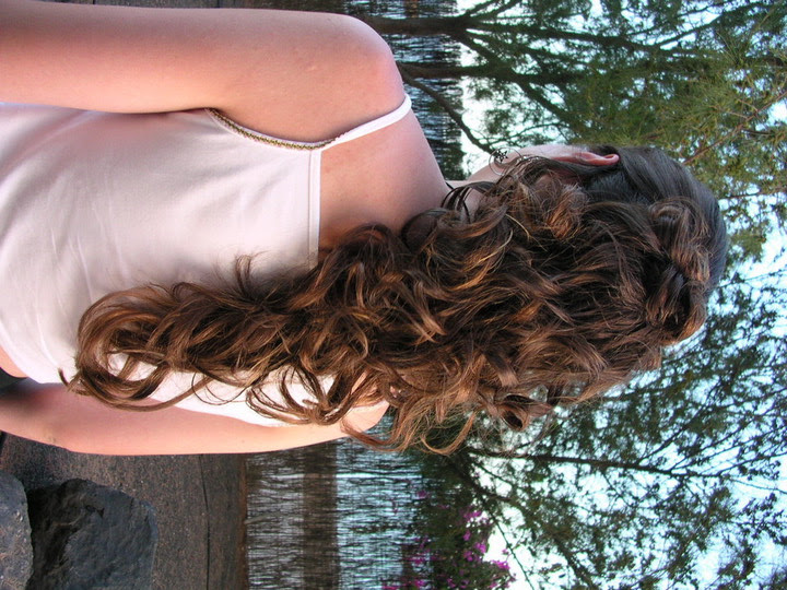 Think Is The First Step 4r Success: Long Curly Hairstyles