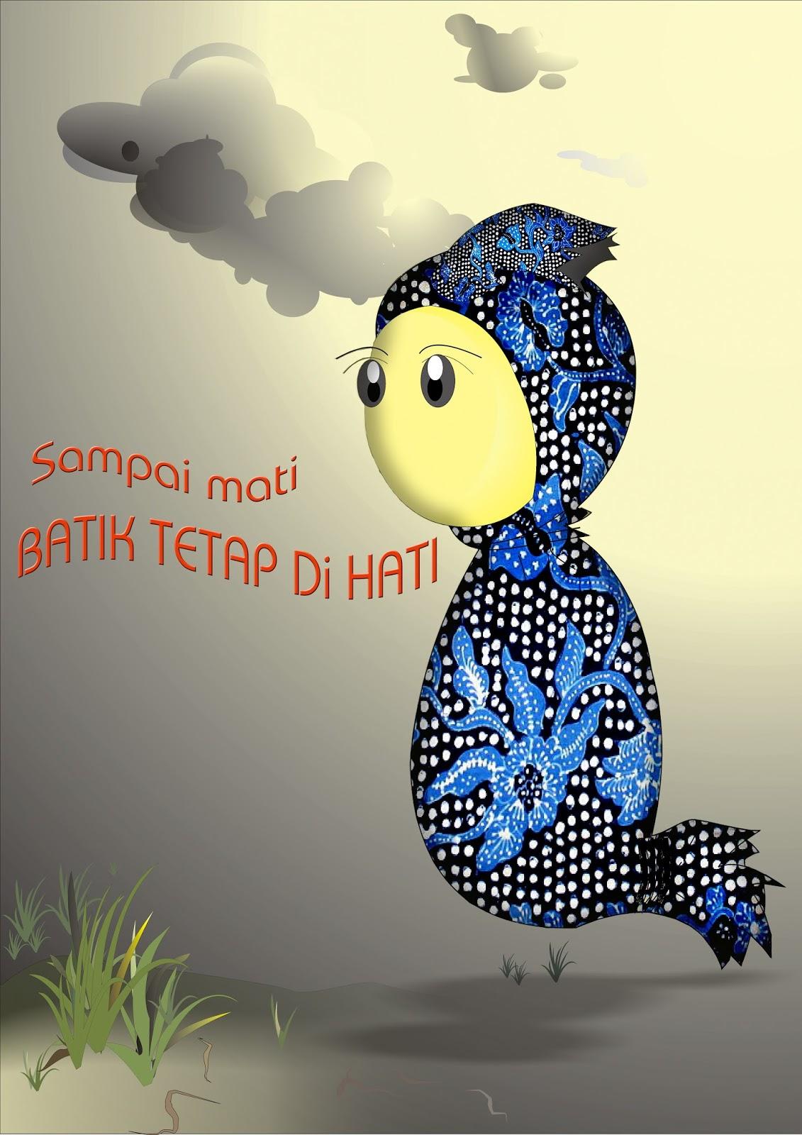 Contoh Gambar Poster Batik Ide Poster