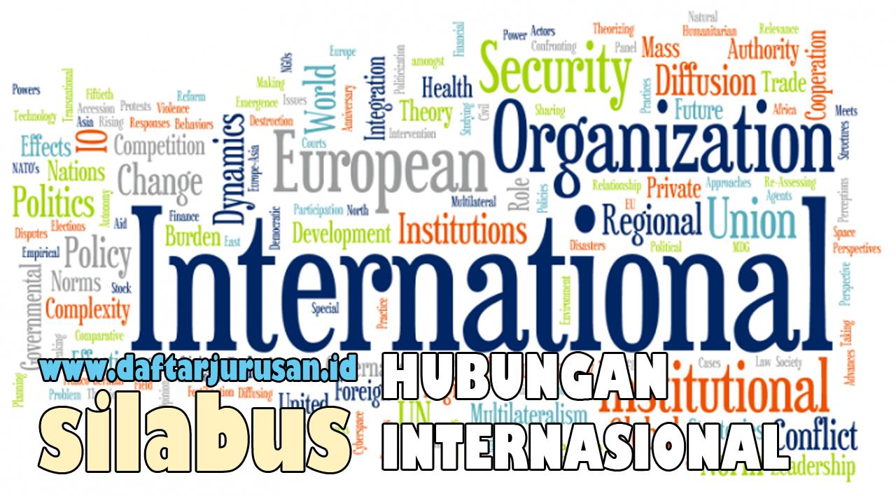 Mata Kuliah Yang Dipelajari Pada Ilmu Hubungan Internasional