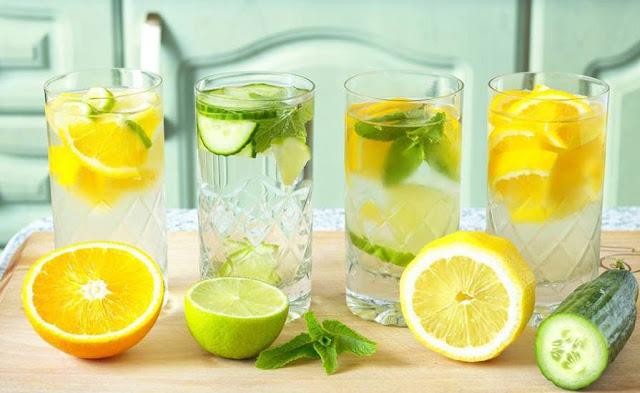cách làm nước detox thanh lọc cơ thể