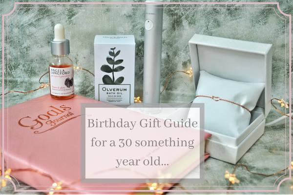 Birthday gift list guide of a 30 something year old