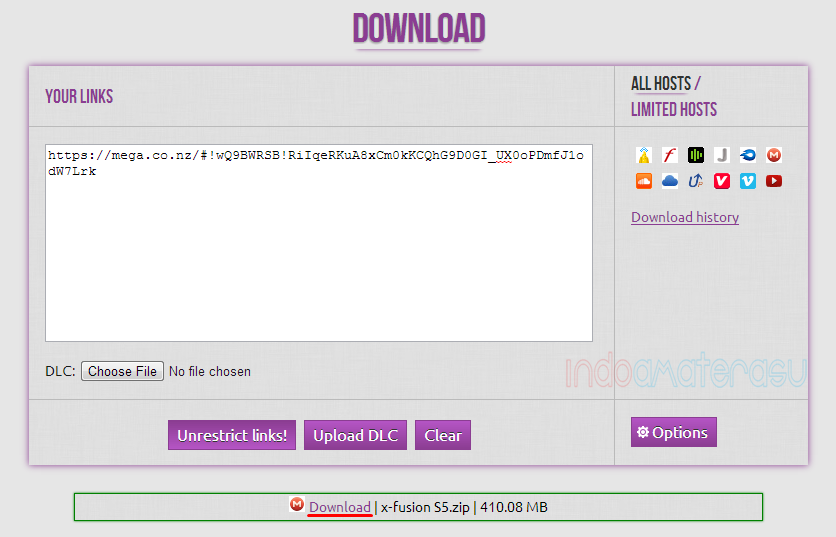 Cara download file di Mega.Co.Nz 2