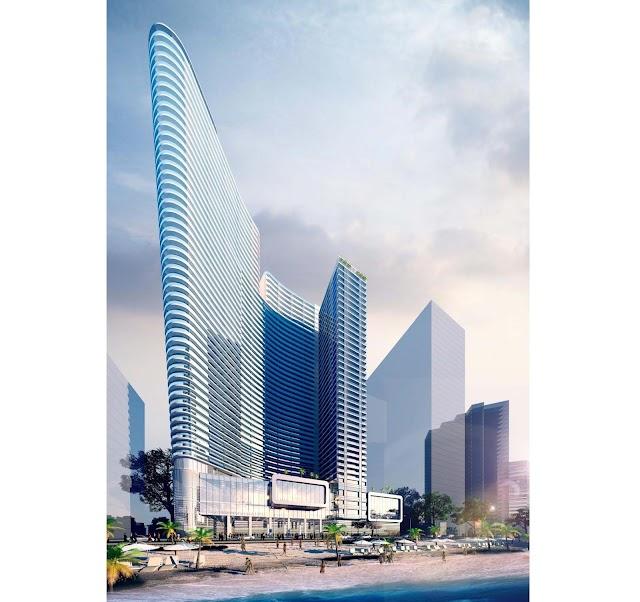 Thiết kế chung cư cao tầng ven biển ở Nha Trang