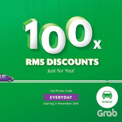 Grab Malaysia GrabCar Promo Code Penang JB KK Melaka