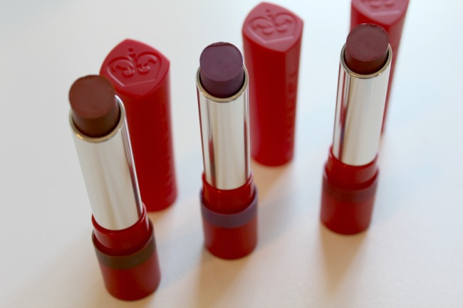 Rimmel's The Only 1 Matte Lipstick range. Nourish ME: www.nourishmeblog.co.uk