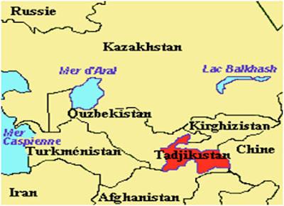 Tayikistán como parte de un rompecabezas