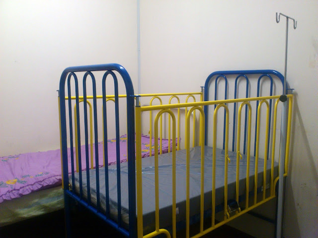 Child Cot untuk Home TPN Program