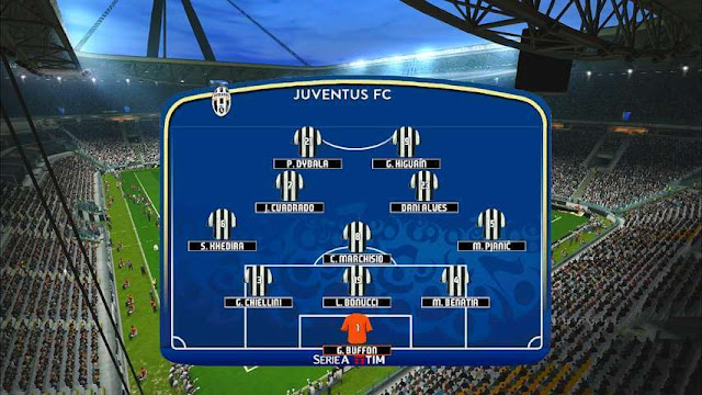 New Serie A Scoreboard PES 2017