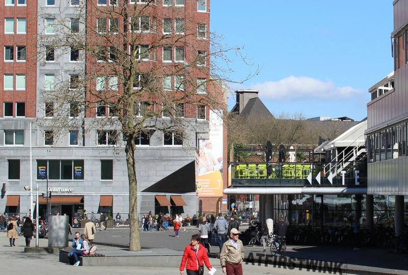 Rotterdam Blaak Bistro Bar Binnenrotte Netherlands