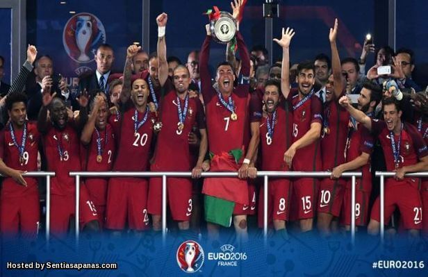 Portugal Juara Eropah 2016