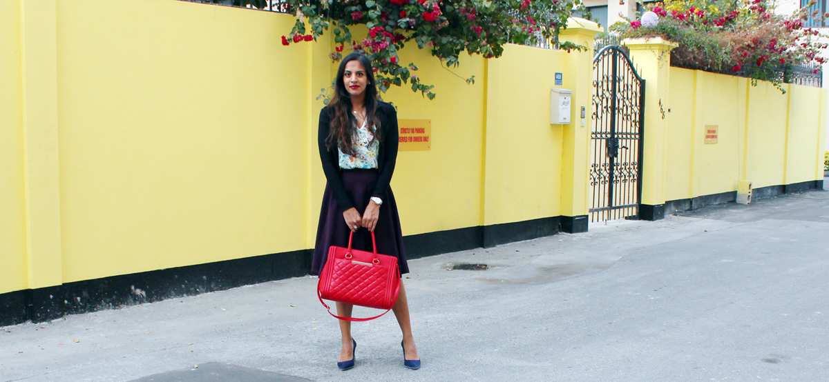 Sneaking Florals Into Work + Overexercising and Weight Loss